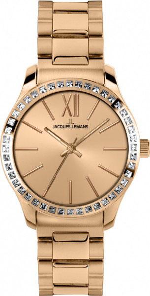 1-1841H  кварцевые наручные часы Jacques Lemans для женщин  1-1841H