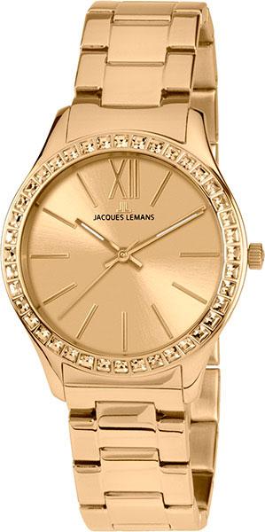 1-1841ZC  кварцевые наручные часы Jacques Lemans для женщин  1-1841ZC