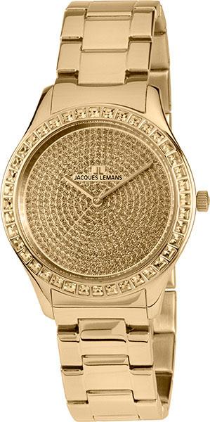 1-1841ZK  кварцевые наручные часы Jacques Lemans для женщин  1-1841ZK