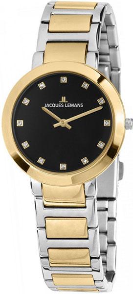 1-1842i  кварцевые наручные часы Jacques Lemans для женщин  1-1842i