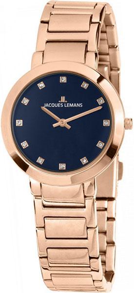 1-1842J  женские кварцевые наручные часы Jacques Lemans  1-1842J