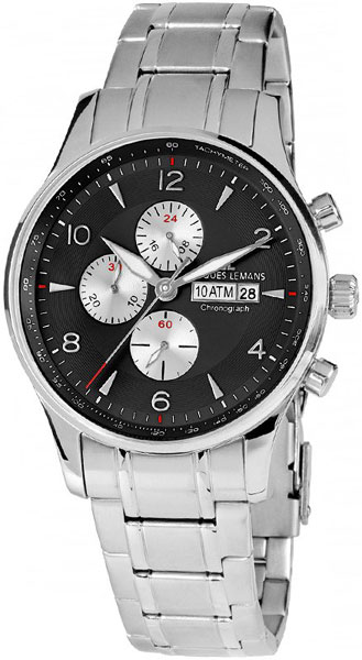 1-1844H  кварцевые наручные часы Jacques Lemans для мужчин  1-1844H