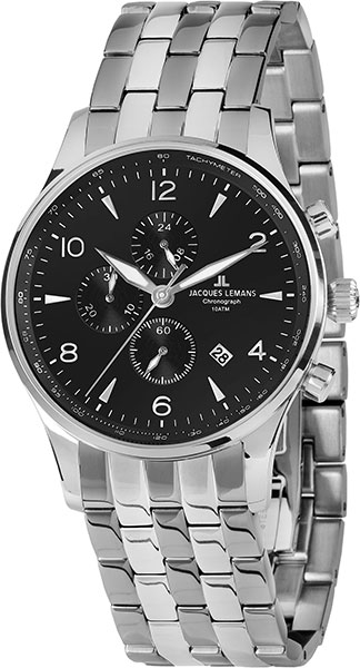 1-1844ZE  кварцевые наручные часы Jacques Lemans  1-1844ZE