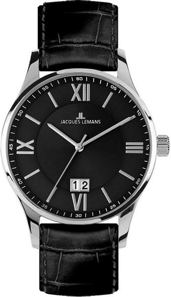 1-1845A  кварцевые наручные часы Jacques Lemans для мужчин  1-1845A