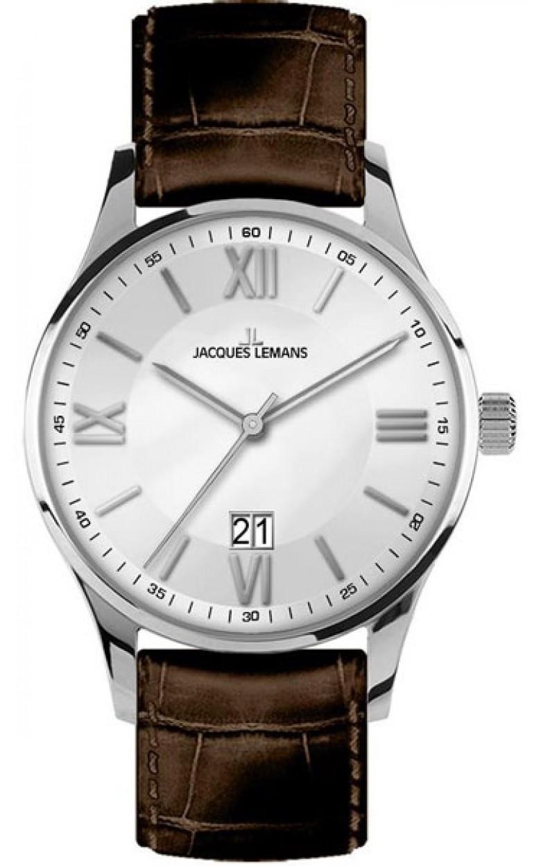 1-1845B  кварцевые наручные часы Jacques Lemans для мужчин  1-1845B