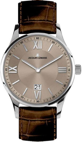 1-1845D  кварцевые наручные часы Jacques Lemans для мужчин  1-1845D