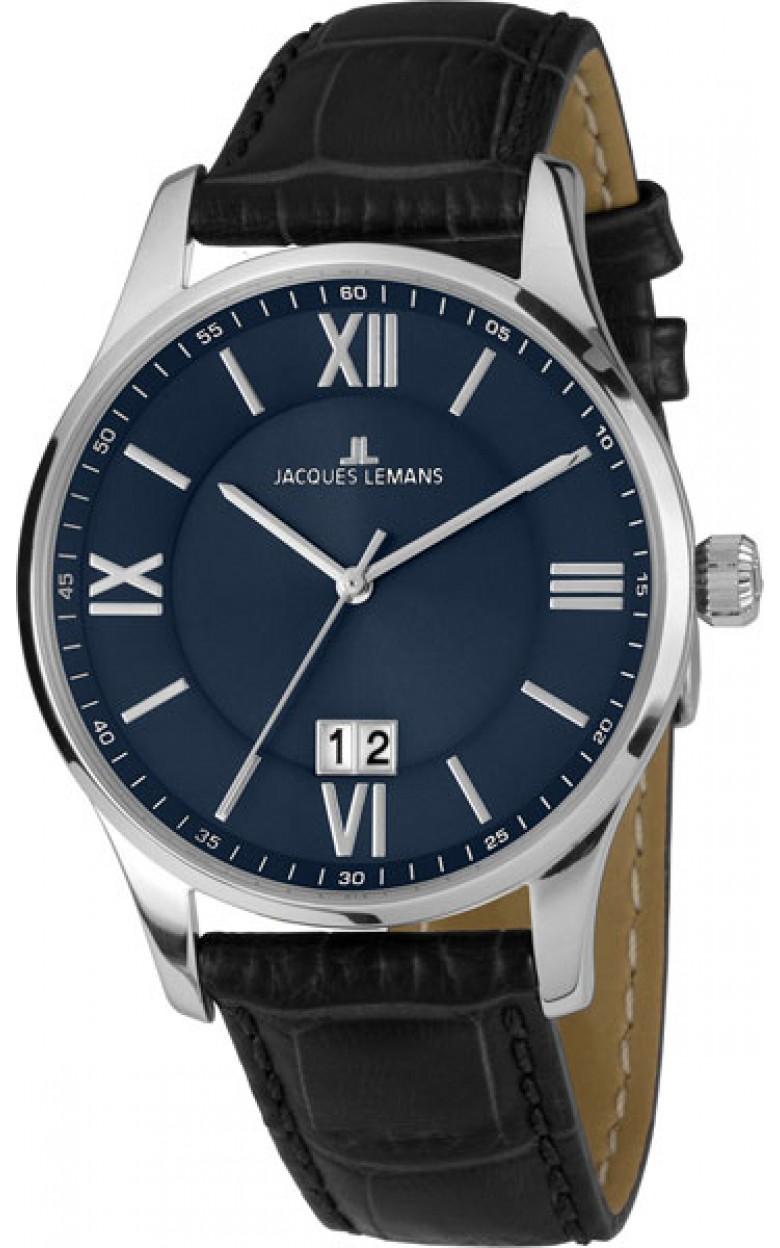 """1-1845O  кварцевые наручные часы Jacques Lemans """"Classic""""  1-1845O"""