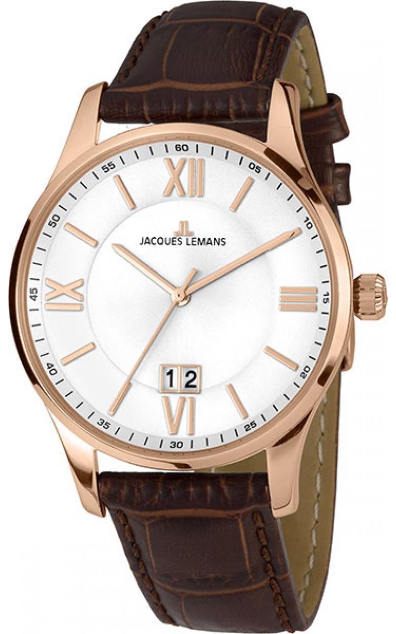 1-1845Q  кварцевые наручные часы Jacques Lemans для мужчин  1-1845Q