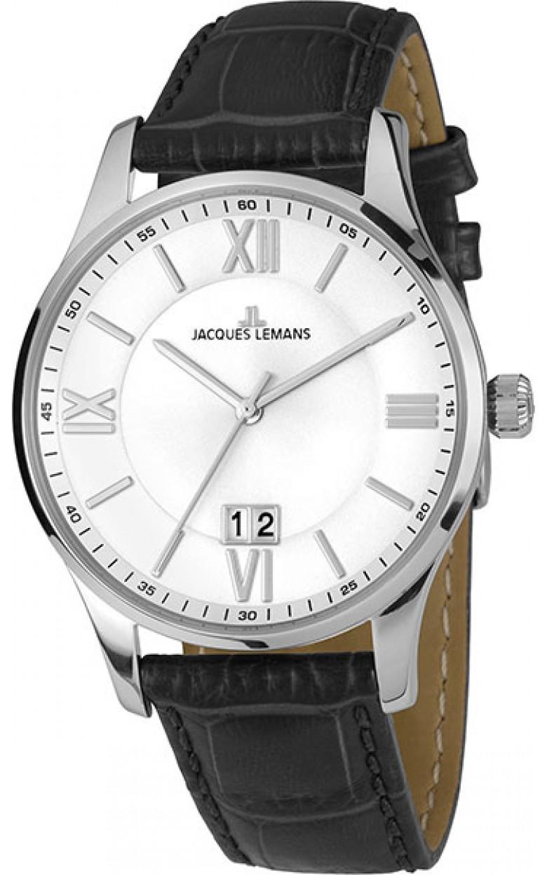 1-1845S  мужские кварцевые наручные часы Jacques Lemans  1-1845S
