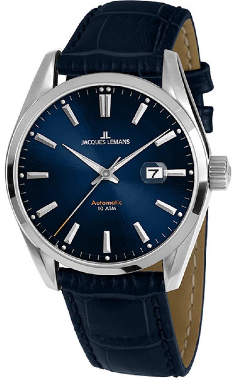 1-1846B  механические наручные часы Jacques Lemans для мужчин  1-1846B