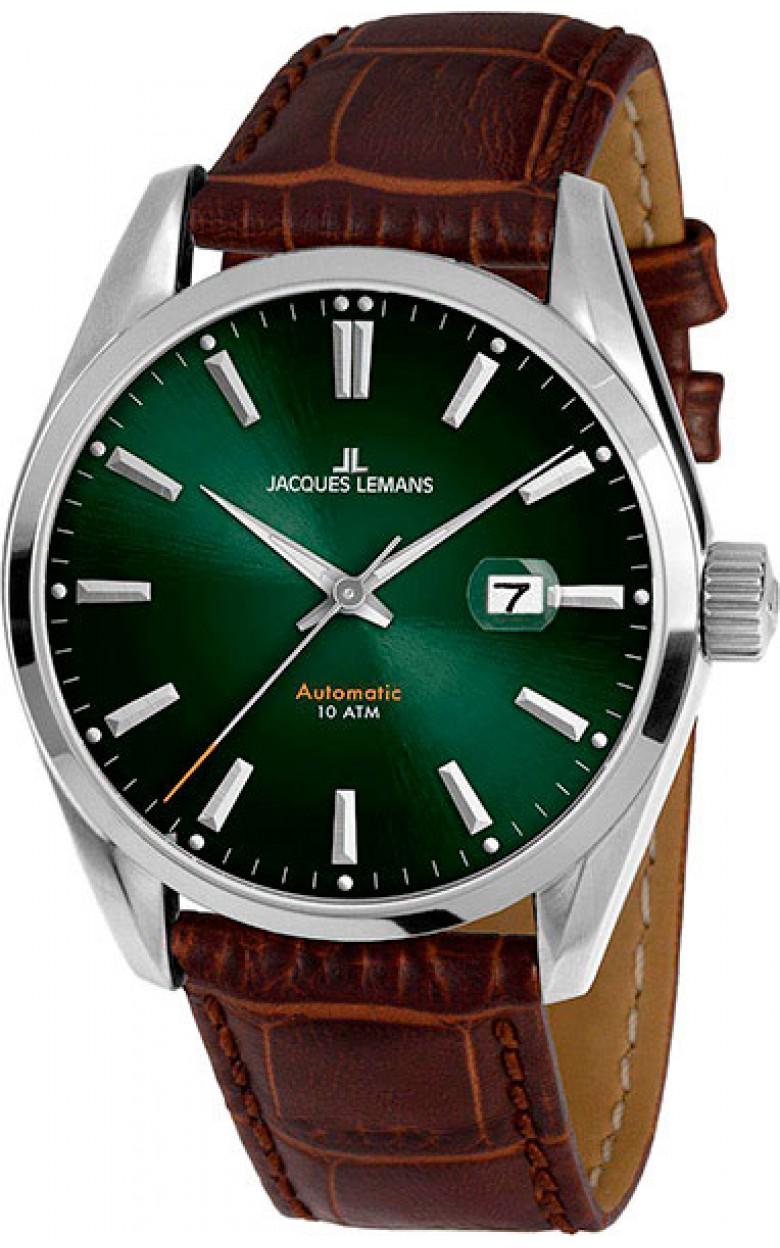 1-1846C  механические наручные часы Jacques Lemans для мужчин  1-1846C