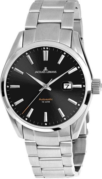 1-1846D  механические наручные часы Jacques Lemans для мужчин  1-1846D
