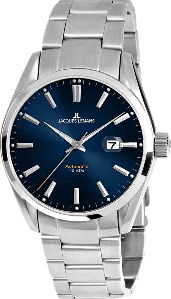 1-1846E  механические с автоподзаводом наручные часы Jacques Lemans  1-1846E