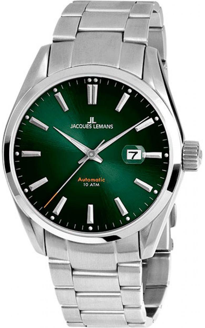1-1846F  мужские механические наручные часы Jacques Lemans  1-1846F