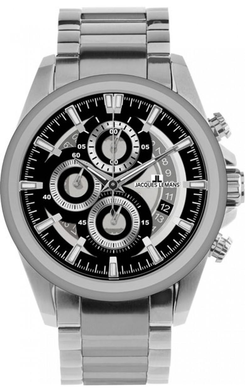 """1-1847E  кварцевые наручные часы Jacques Lemans """"Sport""""  1-1847E"""