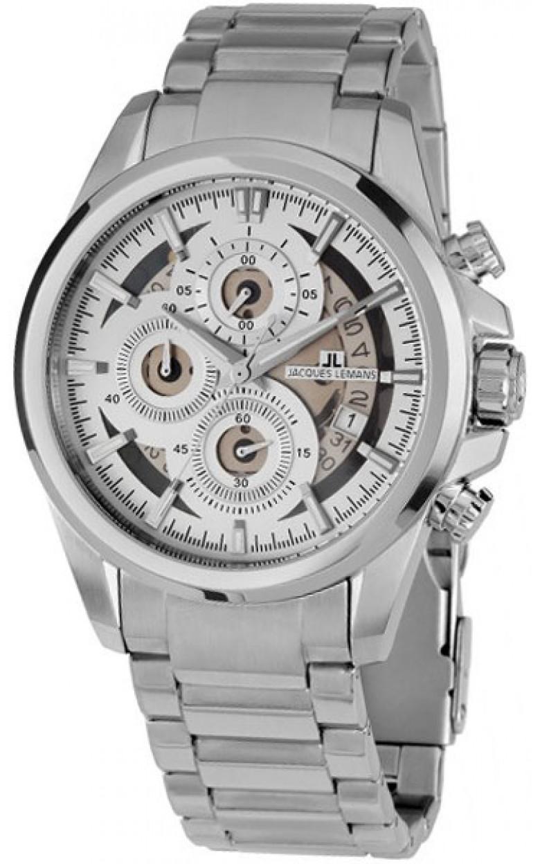 """1-1847F  кварцевые наручные часы Jacques Lemans """"Sport""""  1-1847F"""