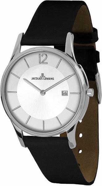 1-1850C  унисекс кварцевые наручные часы Jacques Lemans  1-1850C