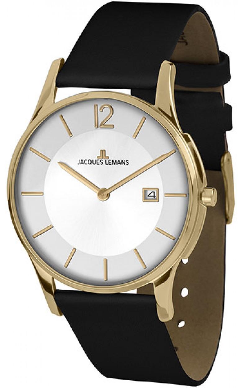 1-1850J  кварцевые наручные часы Jacques Lemans  1-1850J