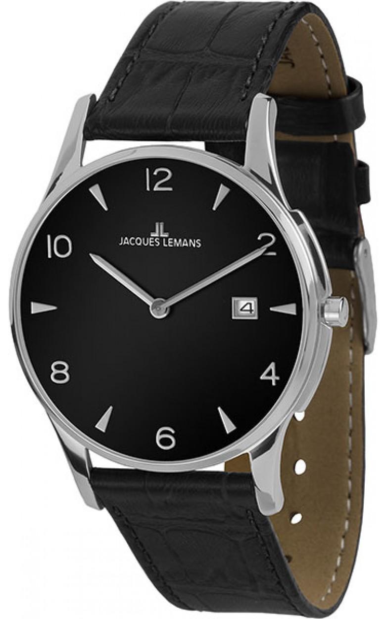 1-1850ZA  унисекс кварцевые наручные часы Jacques Lemans  1-1850ZA