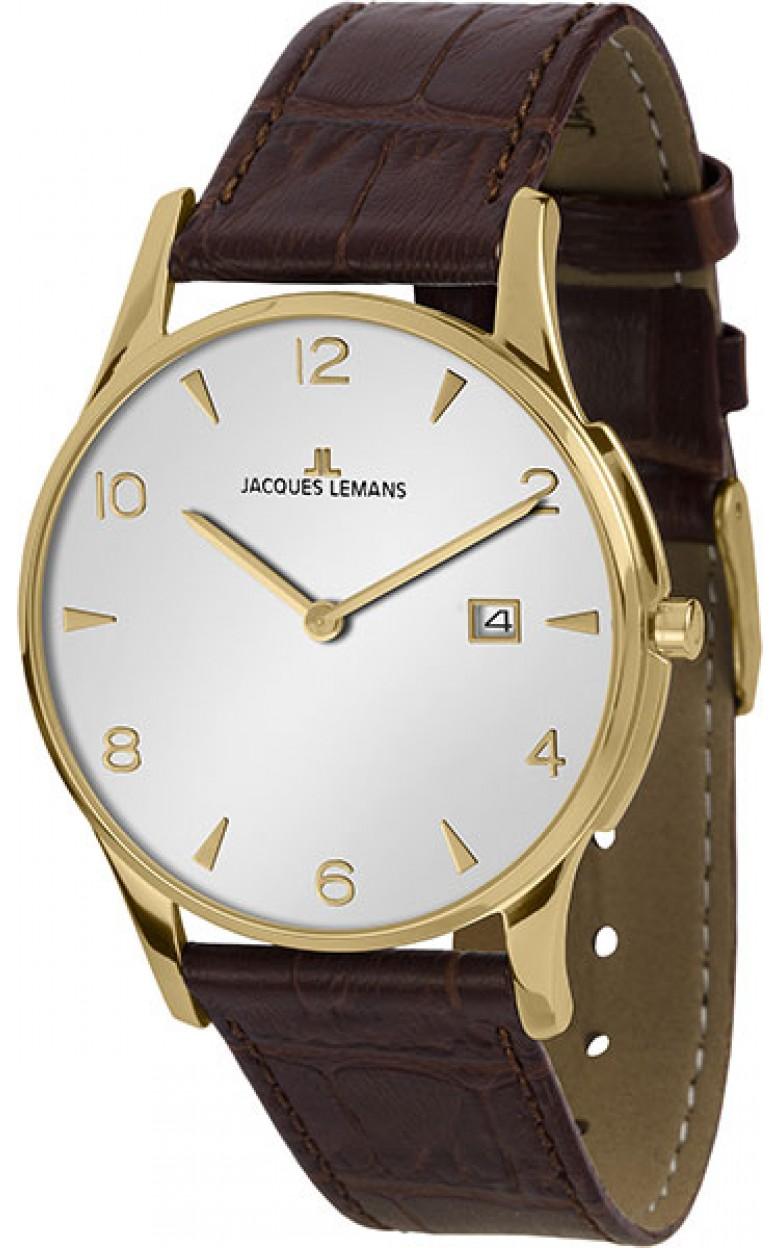 1-1850ZD  унисекс кварцевые наручные часы Jacques Lemans  1-1850ZD