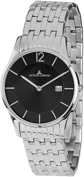 1-1852A  унисекс кварцевые наручные часы Jacques Lemans  1-1852A