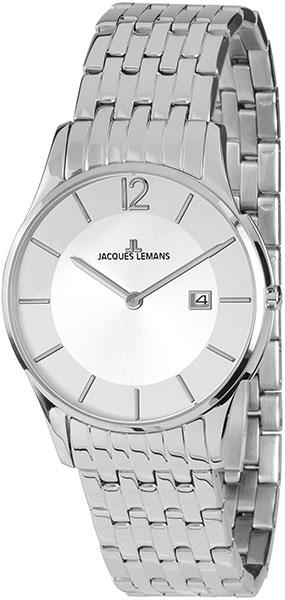 1-1852C  унисекс кварцевые наручные часы Jacques Lemans  1-1852C