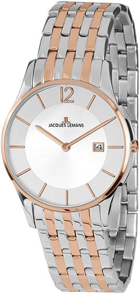 1-1852D  кварцевые часы Jacques Lemans  1-1852D