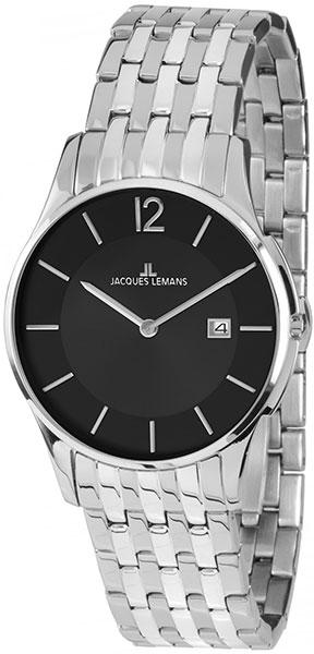 1-1852E  унисекс кварцевые наручные часы Jacques Lemans  1-1852E