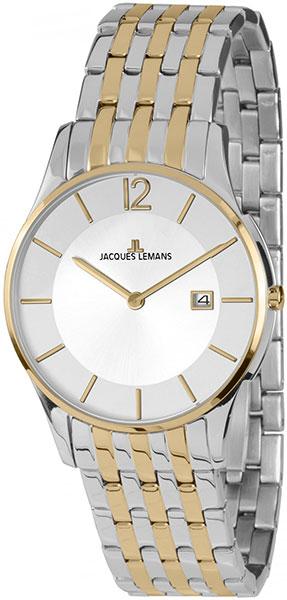 1-1852G  унисекс кварцевые наручные часы Jacques Lemans  1-1852G