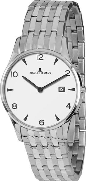 1-1852ZB  унисекс кварцевые наручные часы Jacques Lemans  1-1852ZB
