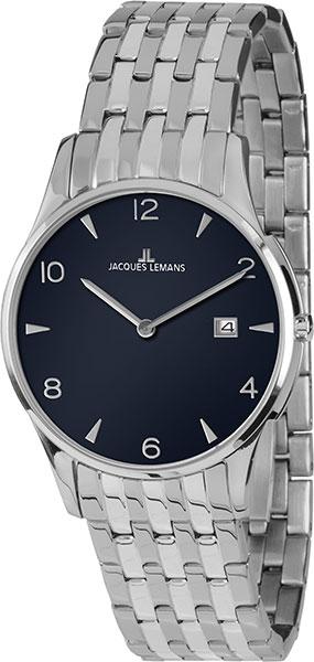 1-1852ZC  унисекс кварцевые наручные часы Jacques Lemans  1-1852ZC