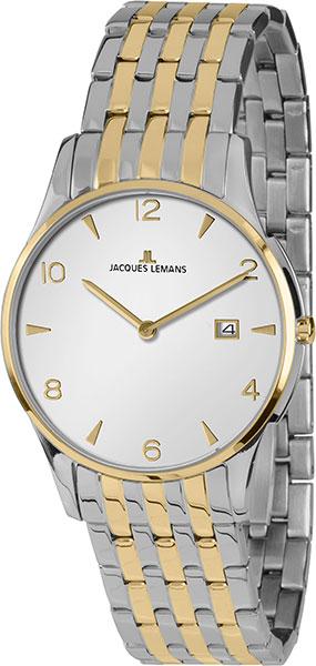 1-1852ZE  кварцевые наручные часы Jacques Lemans  1-1852ZE