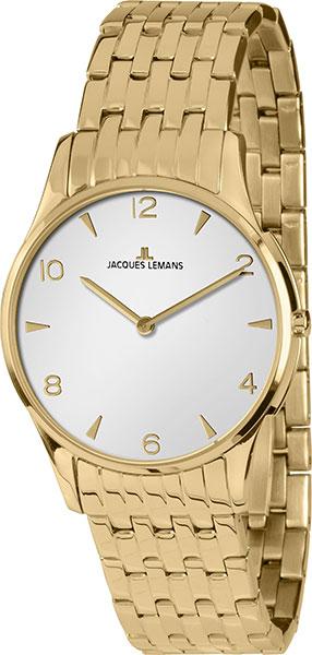 1-1853ZD  кварцевые наручные часы Jacques Lemans для женщин  1-1853ZD
