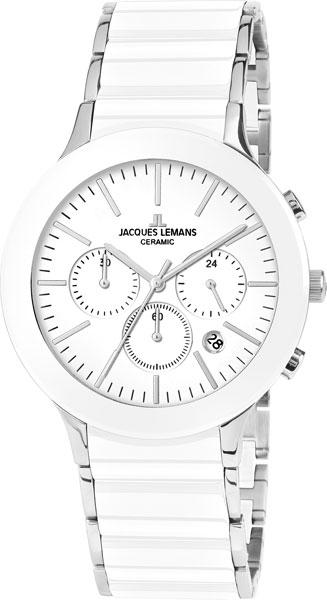 1-1854B  мужские кварцевые наручные часы Jacques Lemans с упрочненным стеклом 1-1854B