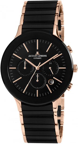 1-1854C  кварцевые наручные часы Jacques Lemans  1-1854C
