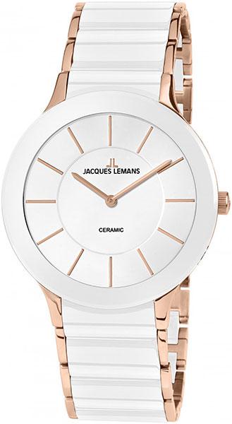 1-1856D  женские кварцевые наручные часы Jacques Lemans с упрочненным стеклом 1-1856D