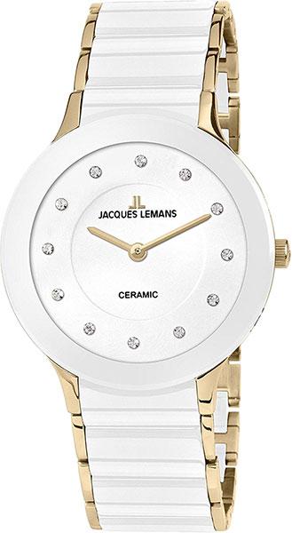 1-1856G  кварцевые наручные часы Jacques Lemans для женщин с упрочненным стеклом 1-1856G