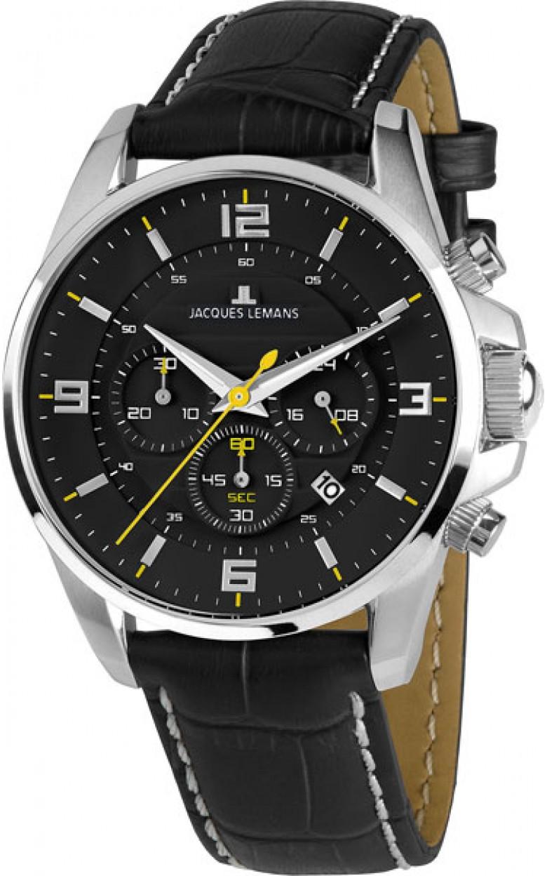 1-1857A  мужские кварцевые наручные часы Jacques Lemans  1-1857A