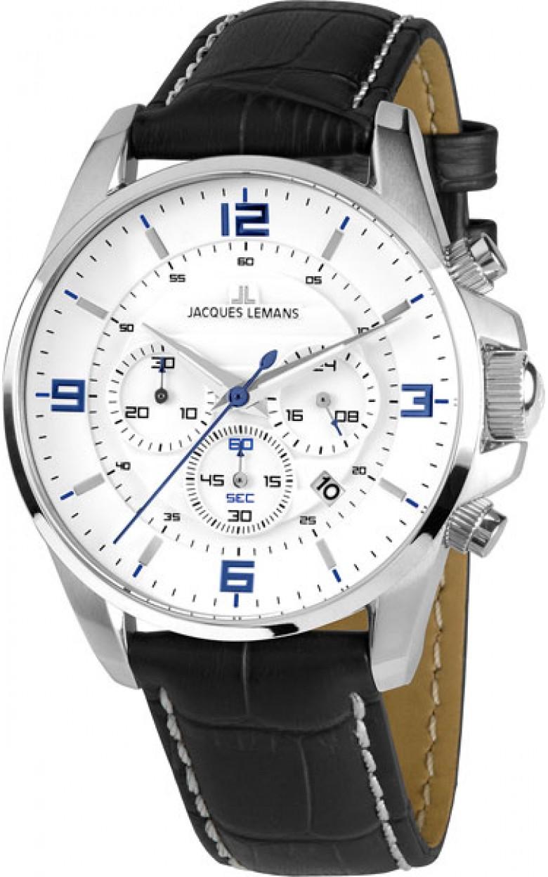 1-1857B  кварцевые наручные часы Jacques Lemans  1-1857B