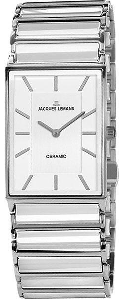 1-1858B  женские кварцевые наручные часы Jacques Lemans  1-1858B