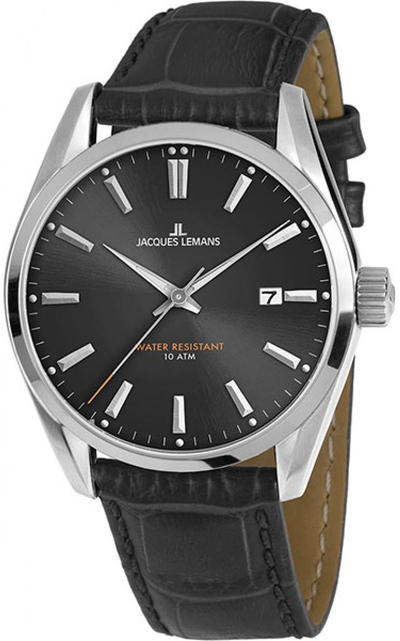 1-1859A  кварцевые наручные часы Jacques Lemans для мужчин  1-1859A