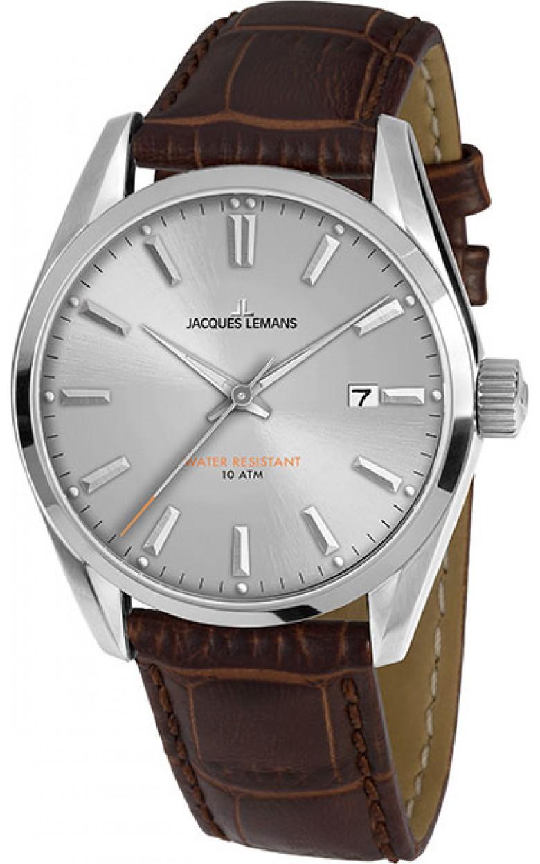 1-1859B  кварцевые наручные часы Jacques Lemans для мужчин  1-1859B
