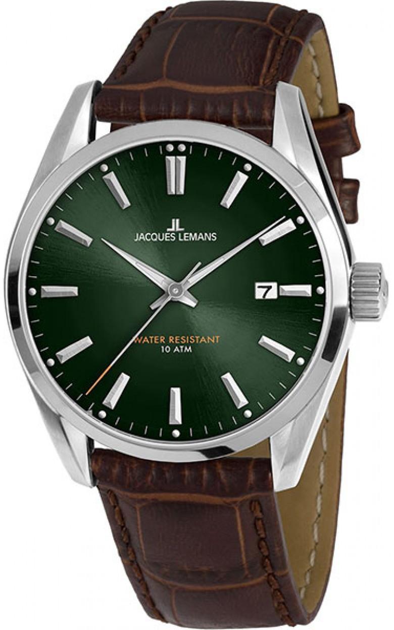 1-1859D  мужские кварцевые наручные часы Jacques Lemans  1-1859D