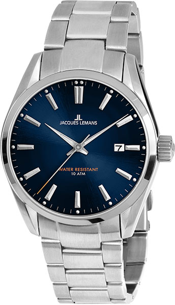 1-1859G  мужские кварцевые наручные часы Jacques Lemans  1-1859G