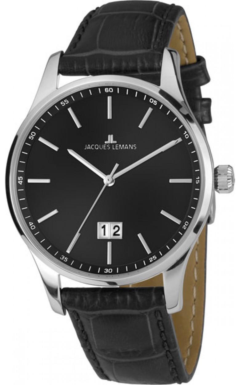 1-1862A  кварцевые наручные часы Jacques Lemans для мужчин  1-1862A