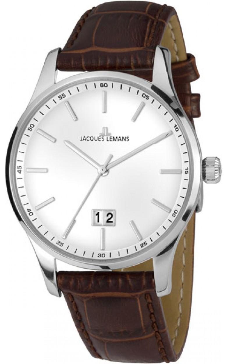 1-1862B  кварцевые наручные часы Jacques Lemans для мужчин  1-1862B