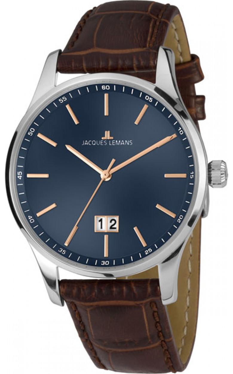 1-1862C  кварцевые наручные часы Jacques Lemans для мужчин  1-1862C