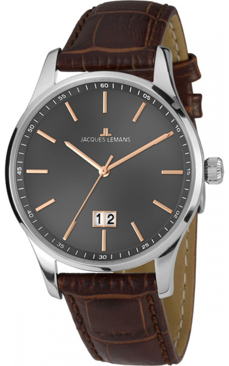 1-1862D  кварцевые наручные часы Jacques Lemans для мужчин  1-1862D