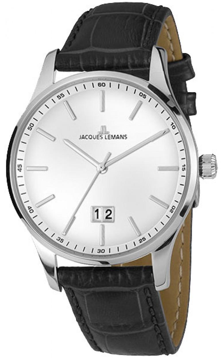 1-1862L  кварцевые наручные часы Jacques Lemans для мужчин  1-1862L