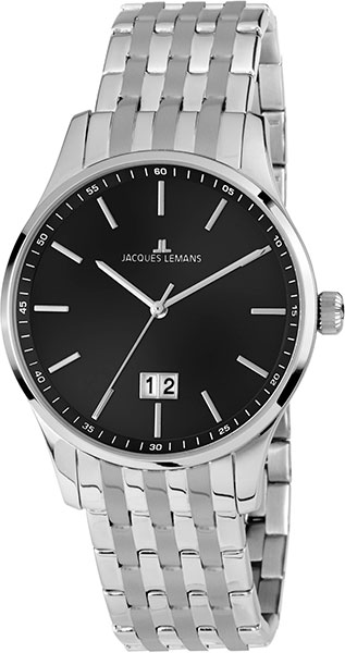1-1862M  мужские кварцевые наручные часы Jacques Lemans  1-1862M